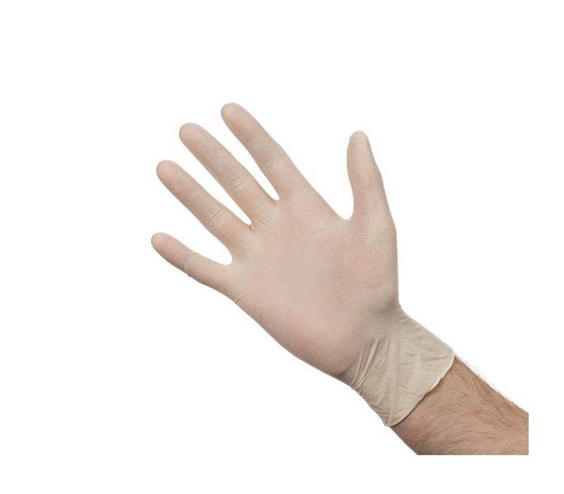 XXLselect Handschoenen Latex | Poedervrij | 100 Stuks | Beschikbaar in 3 Maten