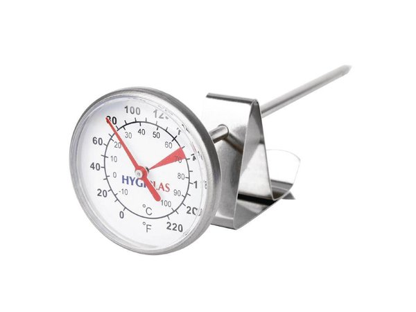 XXLselect Knopthermometer voor Melk   -10°C tot +110°C   45mm