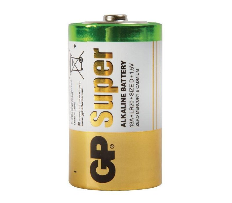 XXLselect Alkaline D-Batterijen | 2-Pack