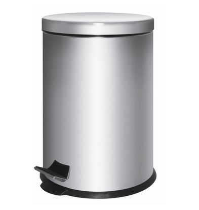 XXLselect Pedal Bin Stainless Steel | 5 liter