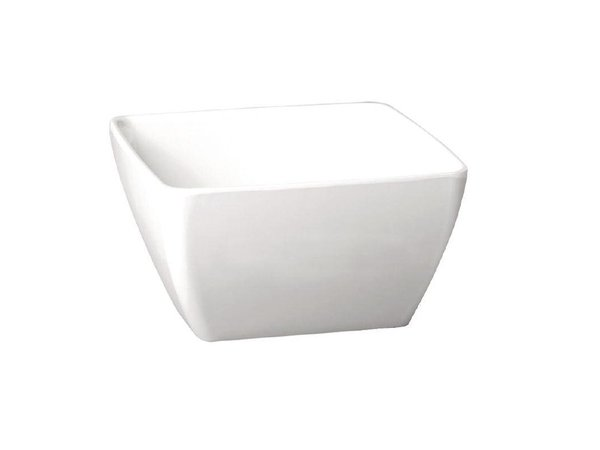 APS Pure Vierkante Kom | Wit Melamine | 125x125mm