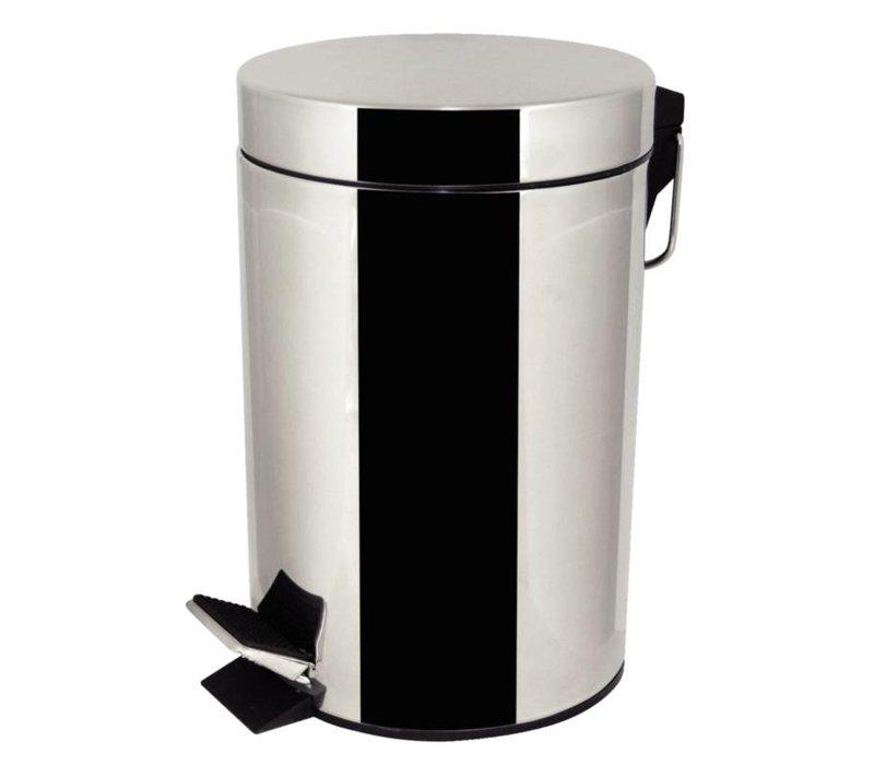 XXLselect Pedaalemmer RVS | 3 Liter