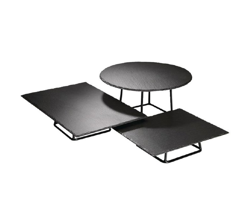 APS Buffetstandaard Metaal | Stapelbaar | 18x18x18cm