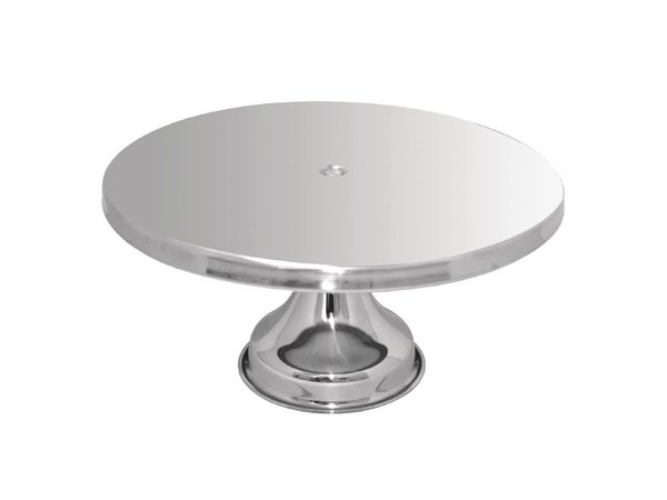 XXLselect Taartschotel RVS | Ø330x170(h)mm