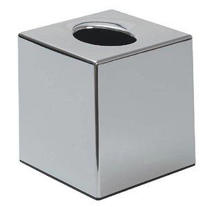 XXLselect Tissuebox Verchroomd Vierkant   120x120x130(h)mm