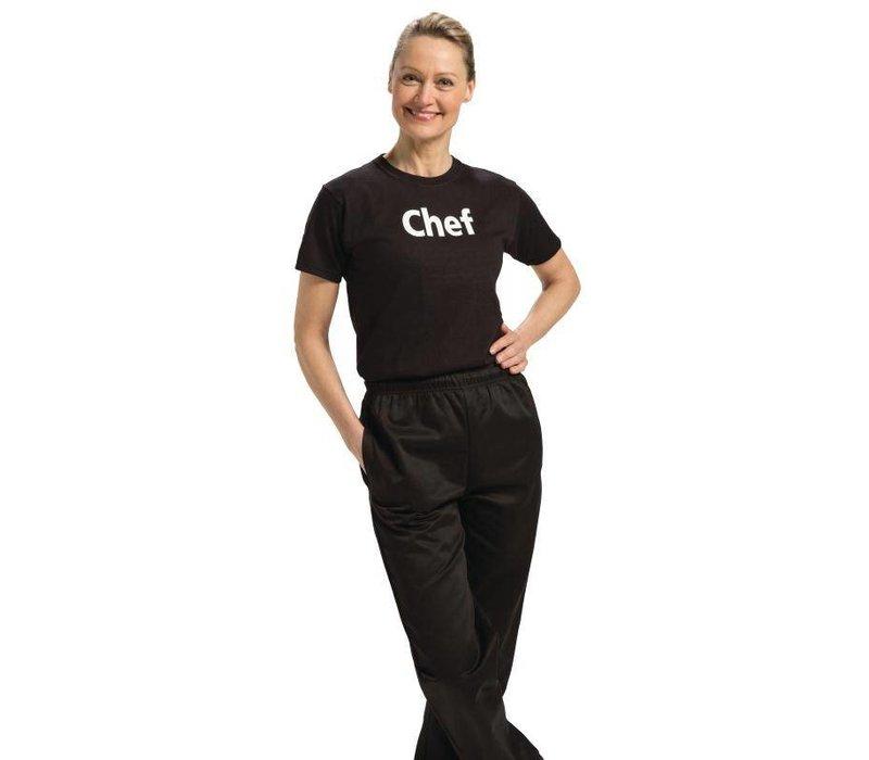 XXLselect Whites T-Shirt 'Chef' | Zwart Katoen | IN 2 MATEN