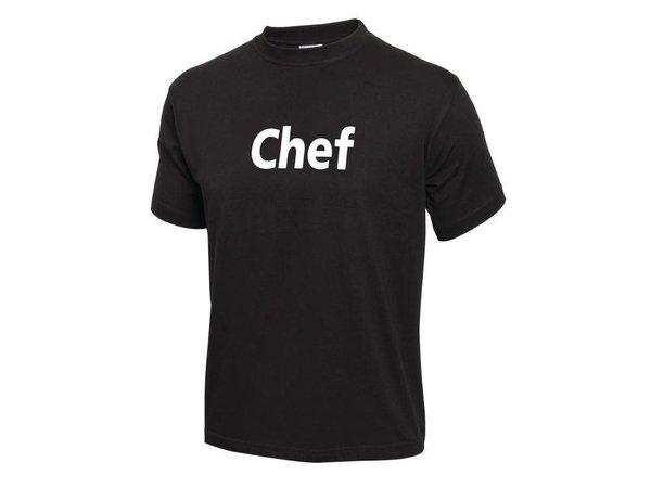 XXLselect Whites T-Shirt 'Staff'   Zwart Katoen   IN 2 MATEN