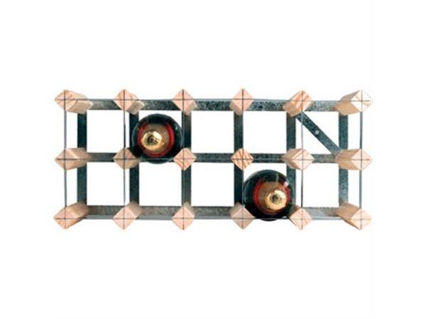 XXLselect Wijnrek 15 Flessen | 520x230x230(h)mm