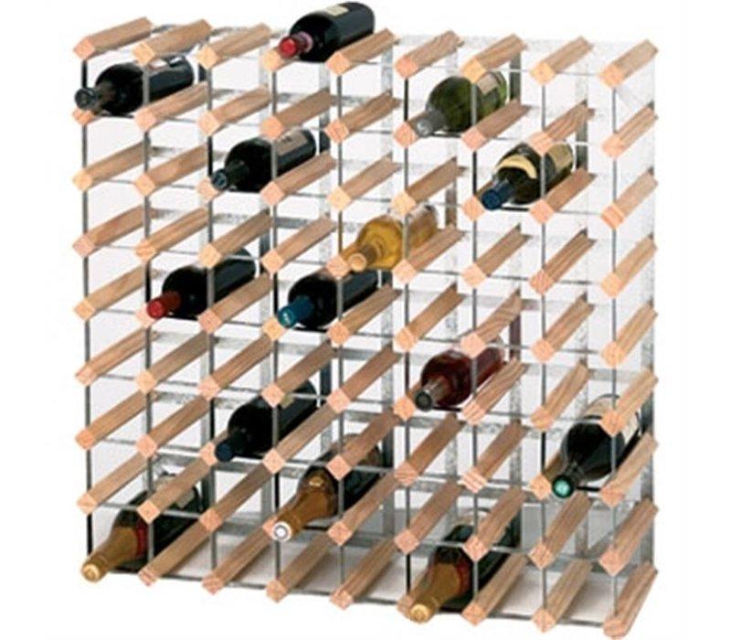 XXLselect Wijnrek 72 Flessen | 810x230x810(h)mm
