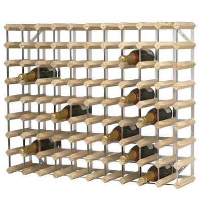 XXLselect Wine Rack 90 Bottles | 810x230x1000 (h) mm