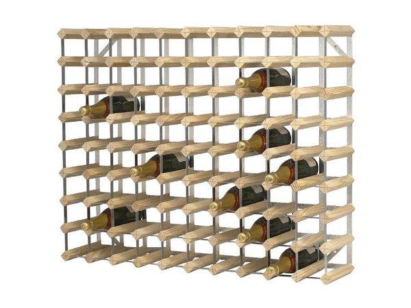 XXLselect Wijnrek 90 Flessen | 810x230x1000(h)mm