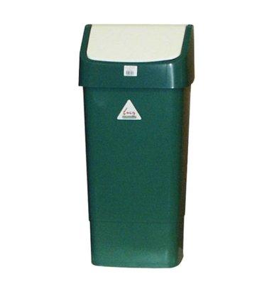 SYR Waste bin with Swing lid 50 liters Green