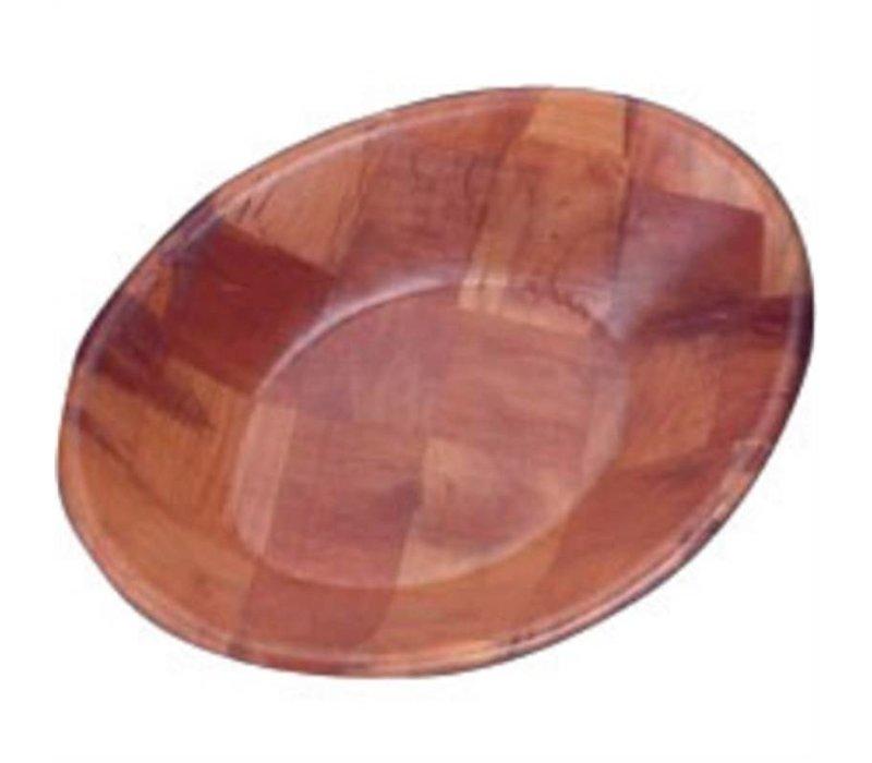 XXLselect Ovale Houten Schaal | 30x23cm