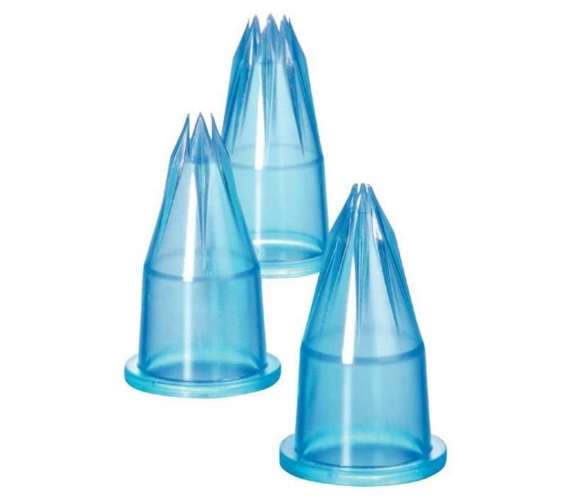 XXLselect Spuitmondenset | Polycarbonaat | 6 Stuks