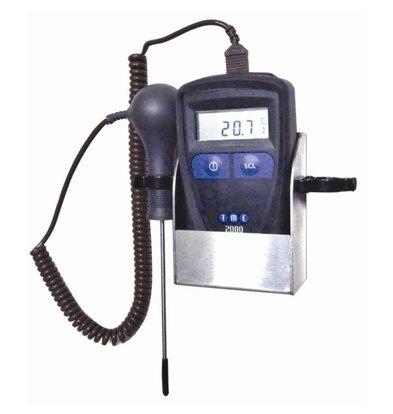 XXLselect Thermometerset MM2000 | -110°C tot +280°C | Incl. Wandhouder