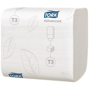 XXLselect Navulling Tork Witte Tissues   30 Pakketjes x 250 Vellen