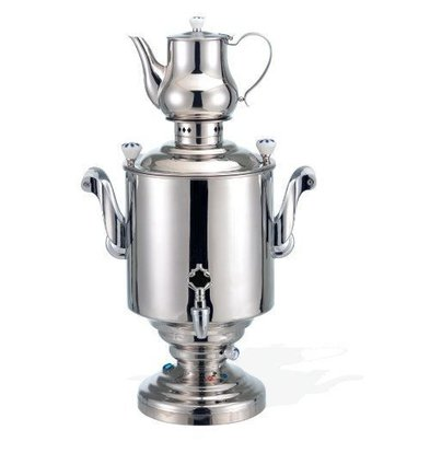 XXLselect BEEM Samovar Trendy Katharina III - maker / Kettle - Stainless Steel - 15 Litre