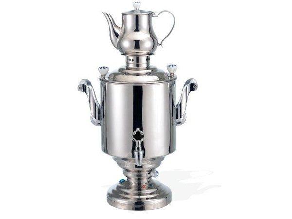 XXLselect BEEM Samovar Trendy Katharina III - Theezetapparaat / Waterkoker - RVS - 15 Liter