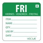 XXLselect Kleurcode-Sticker Vrijdag | Groen | per 500