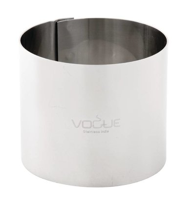 Vogue Moussering RVS | 70x60mm