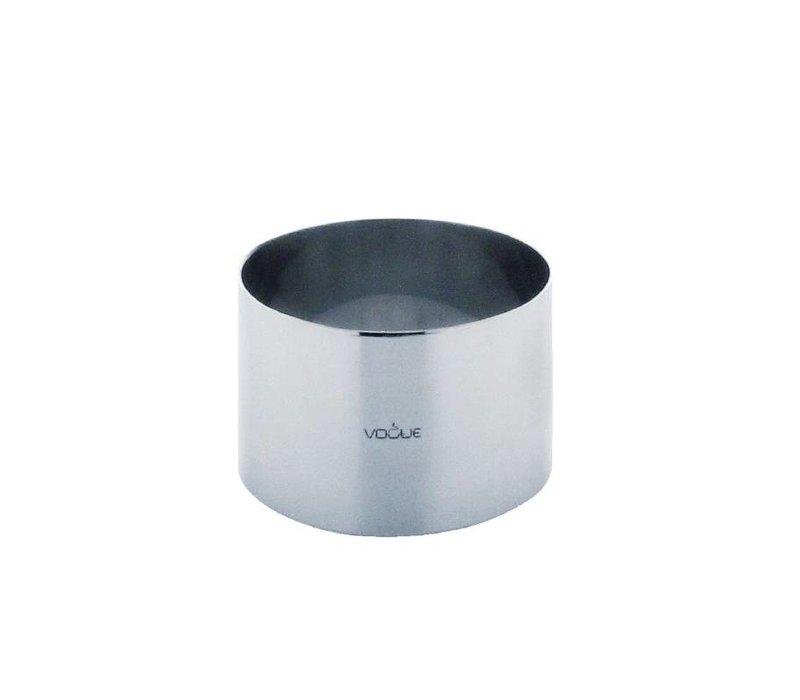 XXLselect Moussering RVS | 90x60mm