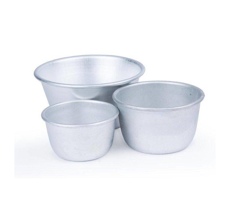 XXLselect Puddingvorm Aluminium | Ø110x54(h)mm