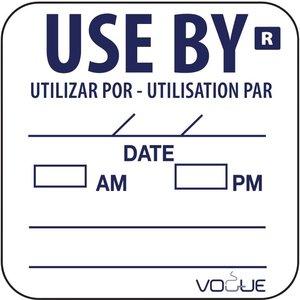 "XXLselect Stickers ""Use By"" | Rol 1000 Stuks"