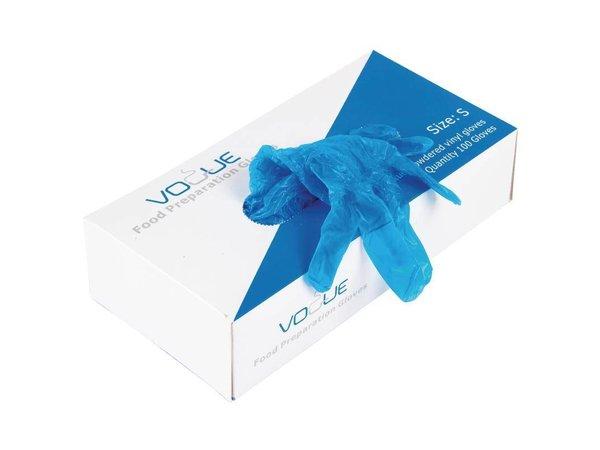 XXLselect Wegwerp Handschoenen | Blauw Vinyl | 100 Stuks | IN 3 MATEN