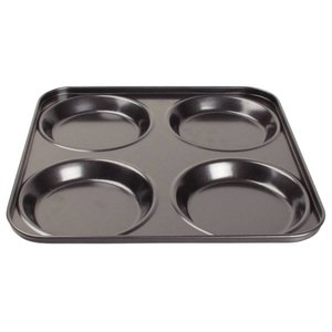 XXLselect Yorkshire Pudding Bakplaat | 4 Vormen | 240x240mm