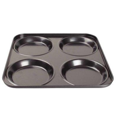 XXLselect Yorkshire Pudding Bakplaat | 4 Vormen | 240x240mm