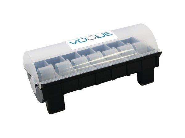 XXLselect Stickerdispenser 2,5cm   Voor 7 Rollen