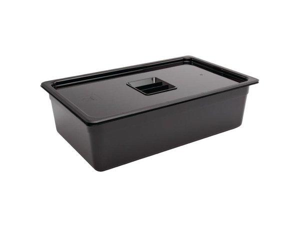 XXLselect Bak Zwart Polycarbonaat | GN 1/1 | 150mm