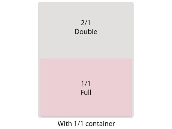 XXLselect Bak Polycarbonaat | GN 1/1 | 200mm