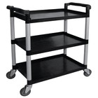 XXLselect Trolley Black PP | 3 Sheets | up to 200 kg