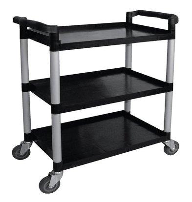 XXLselect Trolley Schwarz PP | 3 Blatt | bis zu 130 kg