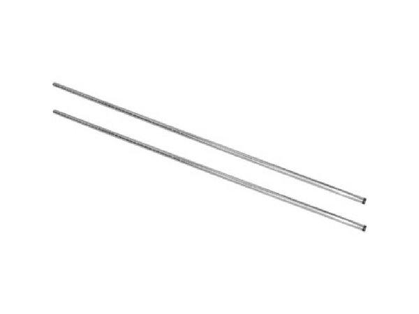 XXLselect Staanderset Chroom | voor Voorraadrekken | 183cm | 2 Stuks