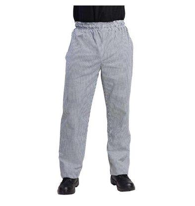 XXLselect Cooks Pants Black / White Checkered | Vegas Unisex | IN 6 SIZES