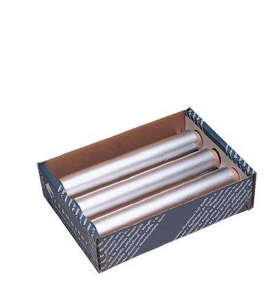 Wrapmaster Aluminiumfolie | 450mm x 90m | 3 Rollen