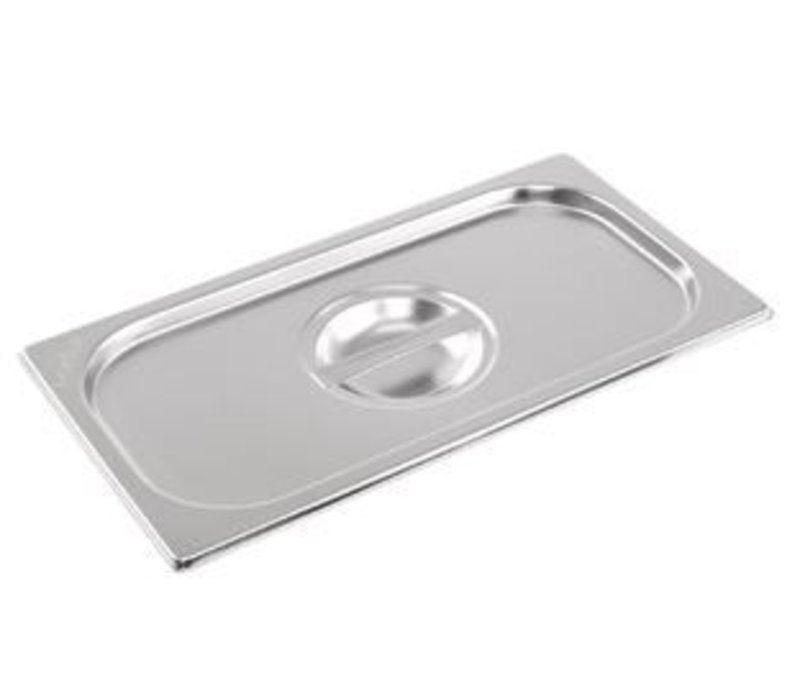 XXLselect Stainless steel lid GN1 / 2 | with Handle