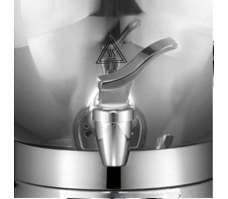 XXLselect BEEM Samovar Trendy 3006C - Theezetapparaat / Waterkoker - RVS - chroom - 6 Liter