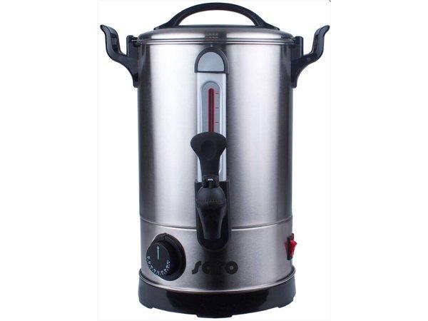 Saro Heetwaterdispenser RVS | 5,9 Liter | Non-drip Tap | Ø205x365(h)mm | XXL AANBIEDING