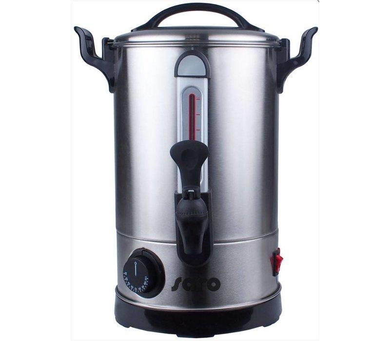 Saro Hot Water Dispenser Stainless Steel | 5.9 Liter | Non-drip tap | Ø205x365 (h) mm | XXL OFFER