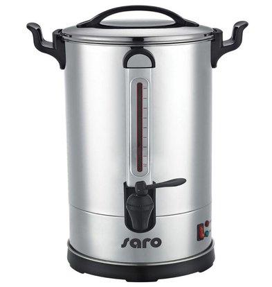 Saro Percolator Edelstahl | Doppelwandig | 8,3 Liter | 60 Tassen | XXL ANGEBOT