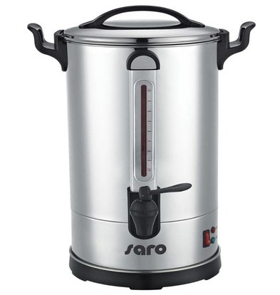 Saro Percolator Stainless Steel | Double walled | 8.3 Liter | 60 Cups | XXL OFFER
