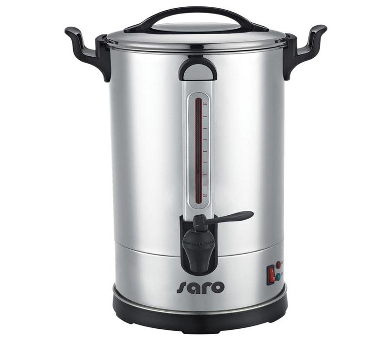 Saro Percolator Stainless Steel   Double walled   8.3 Liter   60 Cups   XXL OFFER