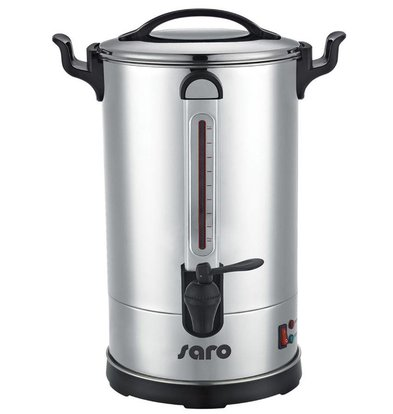 Saro Percolator Stainless Steel | Double walled | 10.8 Liter | 100 Cups | XXL OFFER