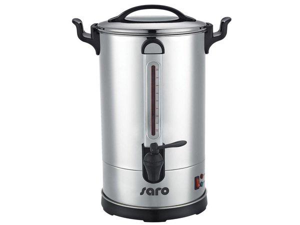 Saro Percolator RVS | Dubbelwandig | 10,8 Liter | tot 100 Kopjes| XXL AANBIEDING