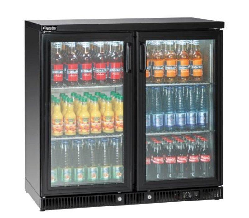 Bartscher Flaschenkühler 250L, 2 Türen