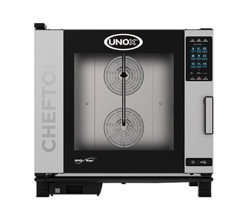 Unox Combisteamer Plus Electric | XEVC-0621-EPR | 6 x 2/1 GN | 860X1120X843 (h) mm