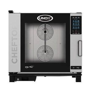 Unox Combisteamer Plus Gas   XEVC-0621-GPR   6 x 2/1 GN   860X1120X843 (h) mm